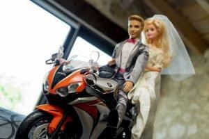 foos de boda motera