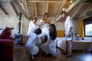 Fotos de boda - boda en monasterio de lupiana