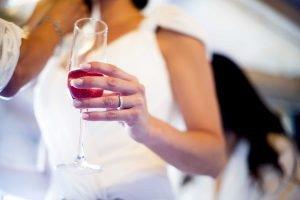 fotos de boda - el brindis