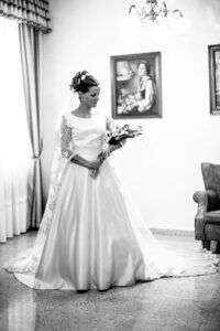 fotos boda toledo ramo de novia