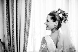 fotos boda toledo tocado de novia
